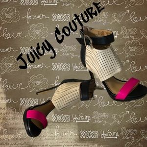 COPY - Juicy Couture🖤Sexy💋 spike heels fuchsia /b…